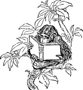 monkey_reading