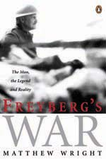 Freyberg's War Cover