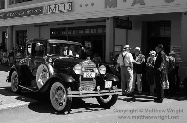 Car: 1930. Building: 1932. Photo: 2012.