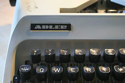 My Adler Gabrielle 25 - on which I typed maybe a million words in the 1980s.