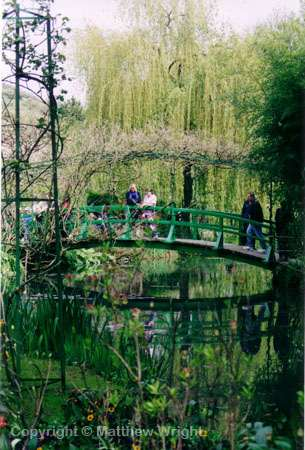 A photo I took of Giverny using 35mm Fujicolor Superia film, 100 asa, 1/125 at f.8. Monet wasn't an artist...he was a photographer.