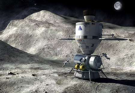 Hypothetical asteroid mission. Image: NASA.