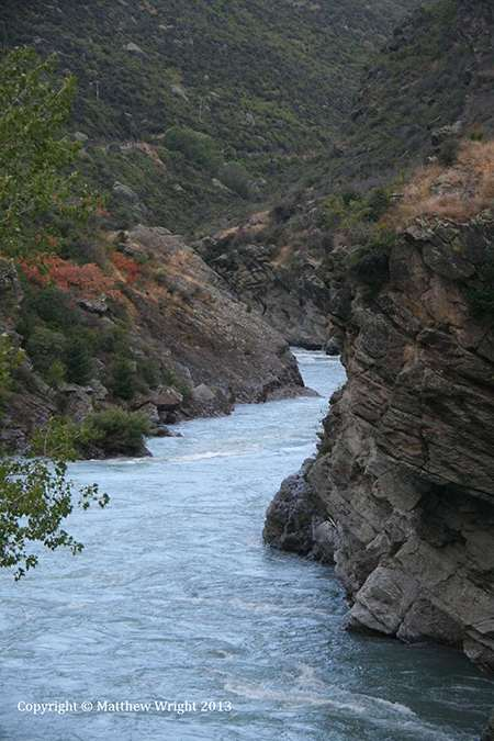 A photo I took of the Kawau gorge, north Otago, 2013. It wasn't easy, the place was socked in with rain most of the day I was there.
