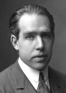 Niels Bohr in 1922. Public domain, from Wikipedia.