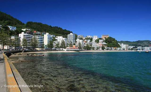 Oriental Bay - named after one of the original colony ships that arrived in 1840 and a popular walk for Wellingtonians today.