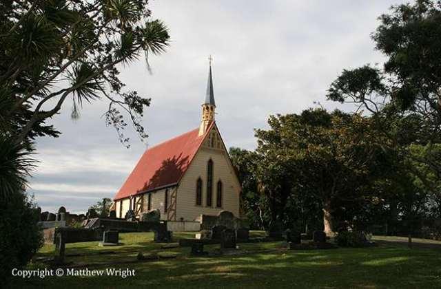 My photo of St Albans' church, Pauahatanui.