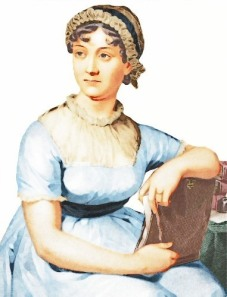 Jane Austen. Public domain, from http://www.wpclipart.com/famous/writer/writers_A_to_D/Jane_Austen_coloured_version.jpg.html