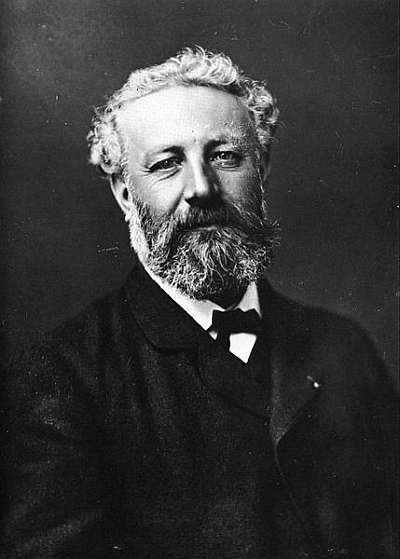 Jules Verne, public domain from Wikimedia.