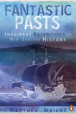 The cover of my book Fantastic Pasts (Penguin 2008). I won't say 'buy this book' because you can't - it's been pulped and taken out of print. I got the license back last week, in fact.