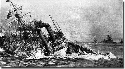 hms victoria sinking