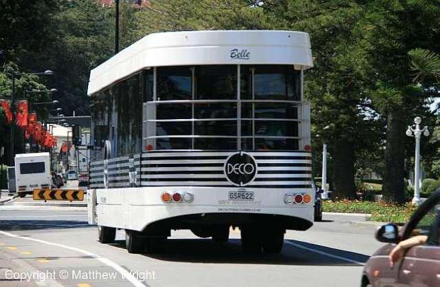 Napier deco bus 'Belle'.