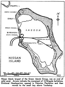 Green Island and the battle plan. Public domain. From  http://nzetc.victoria.ac.nz/tm/scholarly/tei-WH2Paci-_N81633.html