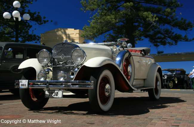 Unlikely to have actually driven in 1930s Napier...but who cares?