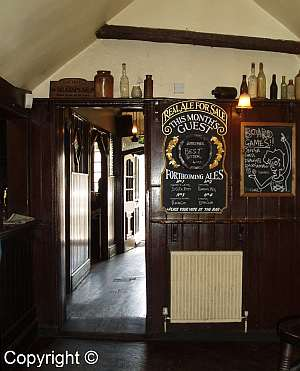 Inside the Eagle and Child. Photo: A. Wright.