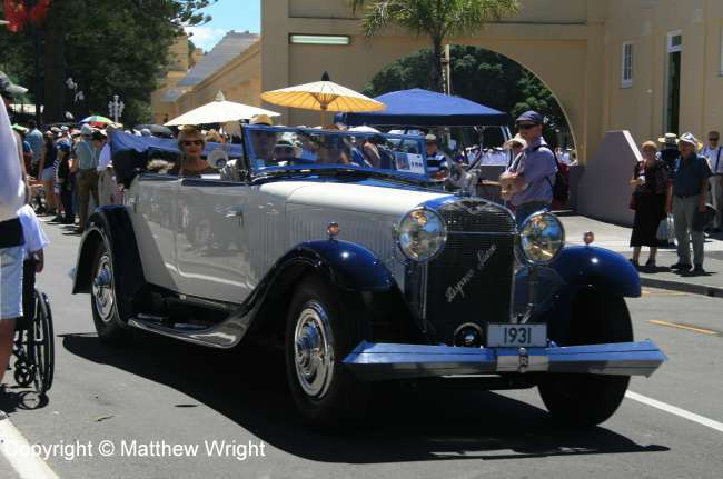 1931 Hispano Suiza. No such beastie in 1931 Hawke's Bay, but hey...