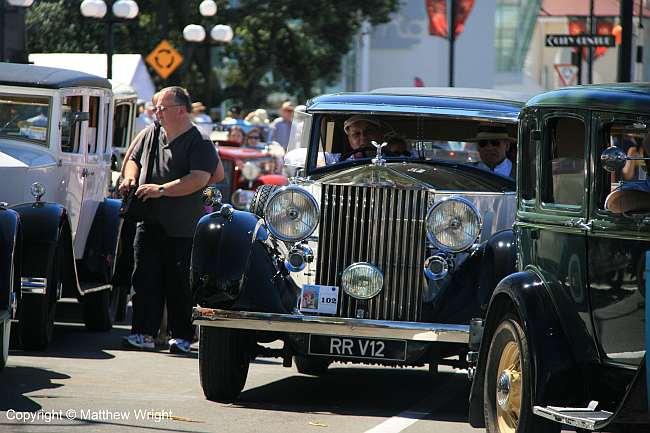 I heard that this 1937 Rolls Royce V12 Phaeton was worth half a million dollars.