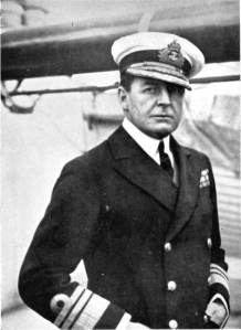 Vice-Admiral Sir David Beatty. Public domain, via Wikipedia.