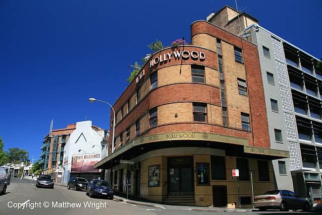 Hollywood cinema, near the Sydney CBD.