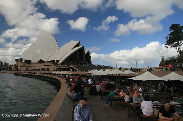 The Opera House Bar.