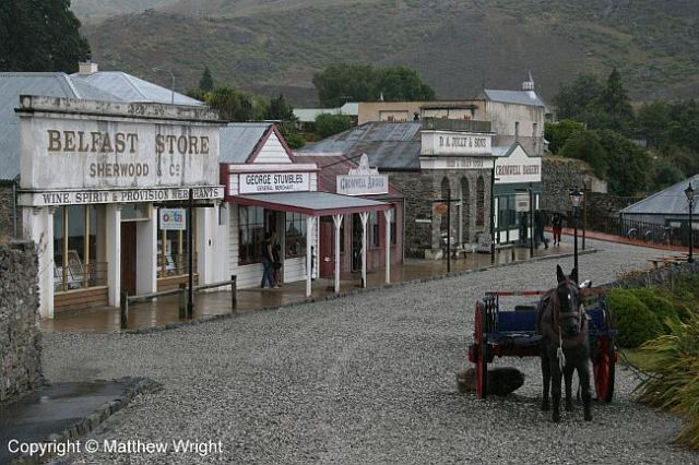 The historic precinct in Cromwell, central Otago.