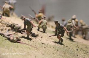 Close-up I took of  the diorama with the help of my SLR's fairly good zoom. Hand-held, ambient light.