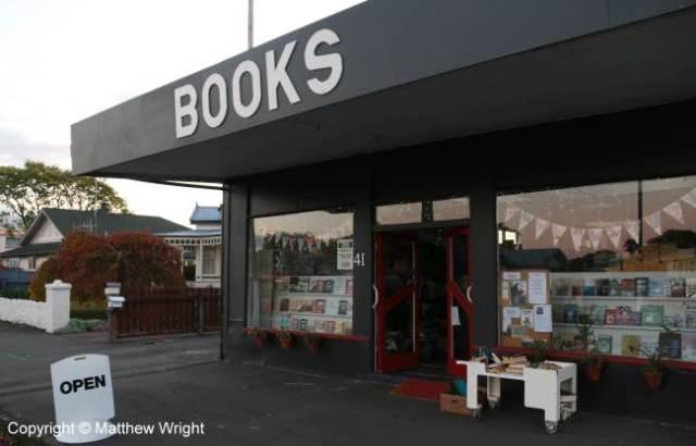 Outside the Little Bookshop...