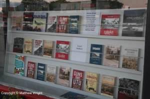 My books in the window...