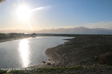 A photo I took of the Wairau Bar, late one winter's afternoon. www.mjwrightnz.wordpress.com