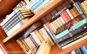 One of my bookshelves...