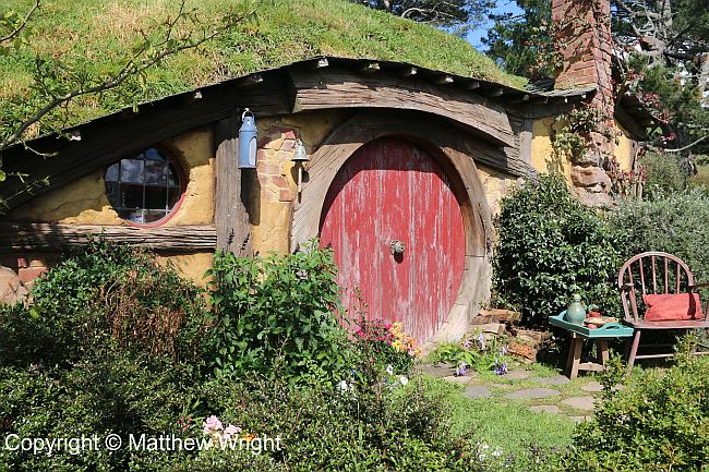 Bagshot Row on the Hobbiton Movie et