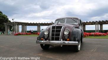 Chrysler Airflow in Napier, New Zealand.