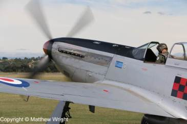P-51D Mustang, formerly of New Zealand's Territorial Air Force.