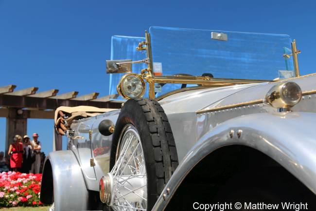 1920 Rolls Royce Silver Ghost.