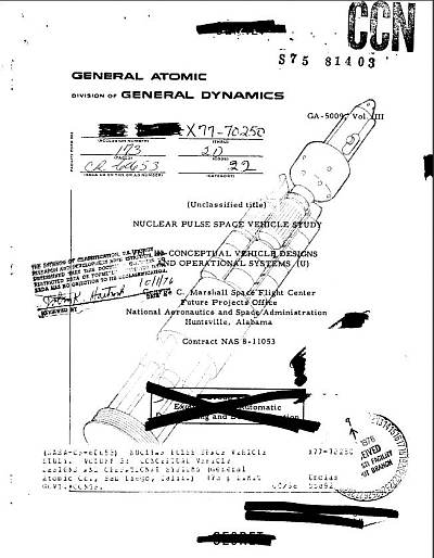 The declassified papers are at: http://www.projectrho.com/public_html/rocket/supplement/GA-5009vIII.pdf
