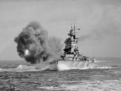 HMS_Nelson_during_gunnery_trials