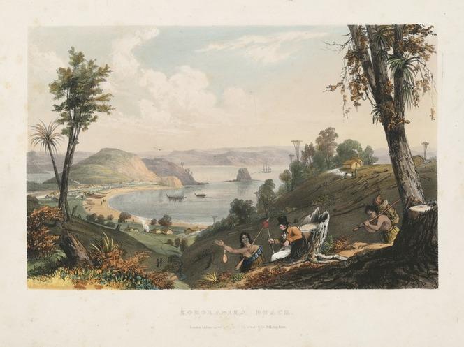 Kororareka beach 1838